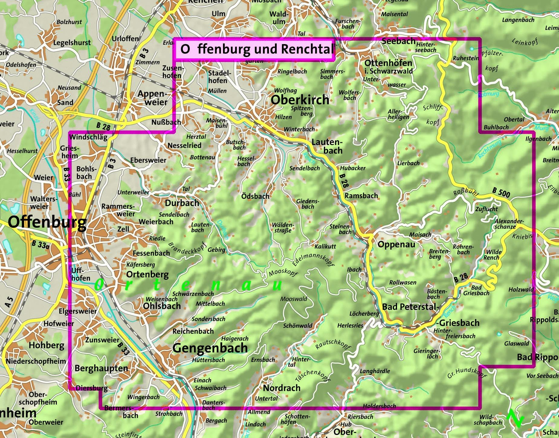 Mountainbike Paradies N 246 Rdliches Kinzigtal Und Renchtal